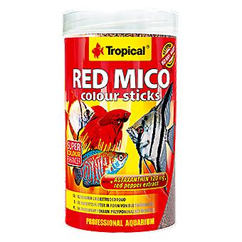 Tropical 63554 Red Mico Colour Sticks 250 ml (Fish , Food , Warm Water)