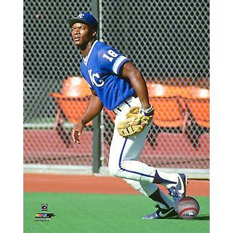 Bo Jackson 1989 akcji Photo Print