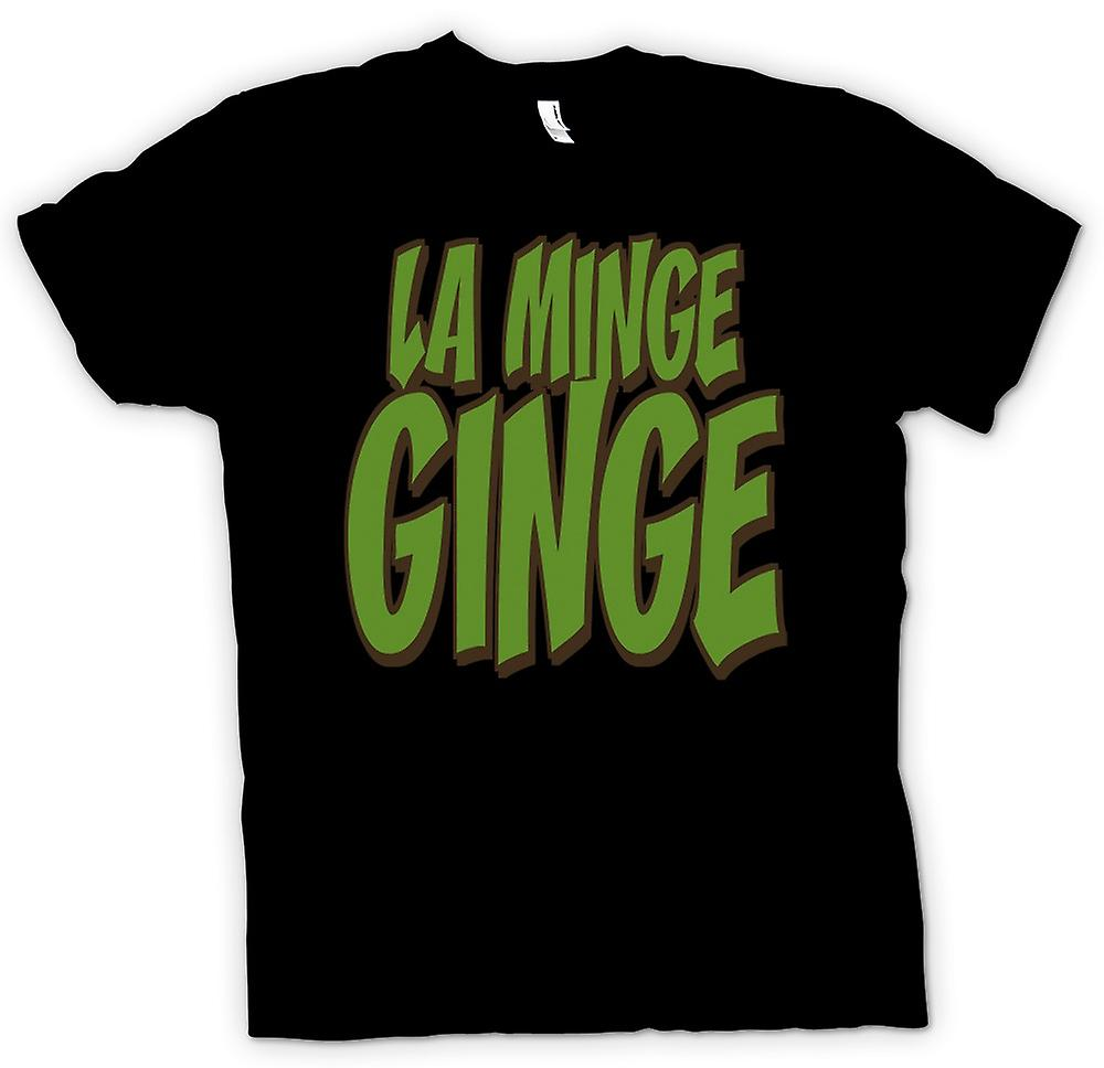 Mens T-shirt - LA MINGE GINGE - Devis