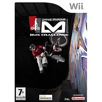 Dave Mirra BMX uitdaging (Wii)