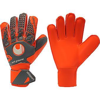 UHLSPORT AERORED SOFT PRO Goalkeeper Gloves Size