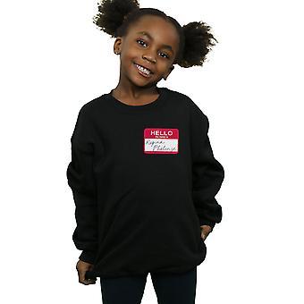Friends Girls Regina Phalange Name Tag Sweatshirt