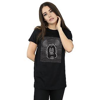 Disney Women's Mickey Mouse Magic Eye Boyfriend Fit T-Shirt