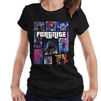 Fortnite Grand Theft Auto Women's T-Shirt
