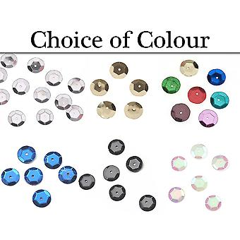 120pk 10mm Round Cupped Sequins for Crafts