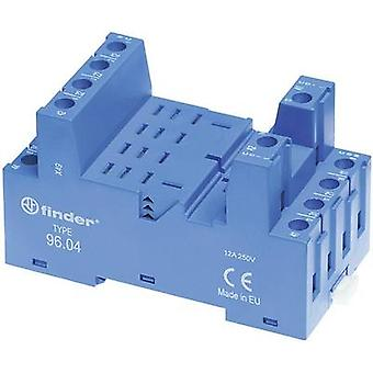 Relay socket 1 pc(s) Finder 96.04 Compatible with series: Finder 56 series