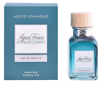 Adolfo Dominguez Agua Fresca Citrus Cedro Edt Spray 230 Ml For Men