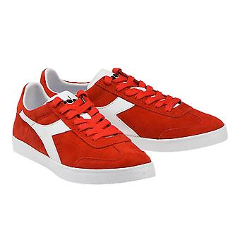 Diadora B.Original VLZ Trainer Ferrari Red Italy/White