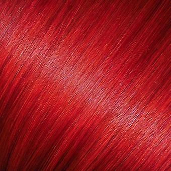 Red - Clip-in Hair Extensions - 18 inch - Bright Colours