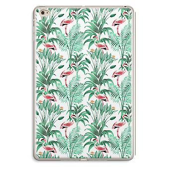 iPad Mini 4 transparente caso - folhas Flamingo