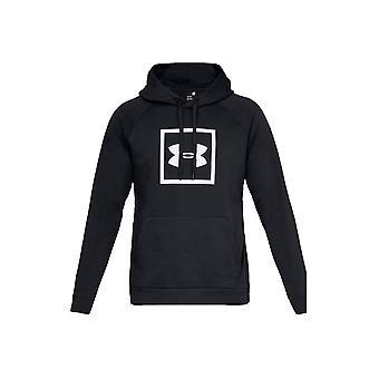 Unter Rüstung Rivalen Fleece Logo Hoodie 1329745-001 Herren sweatshirt