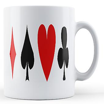 Spillekort symboler - trykte krus