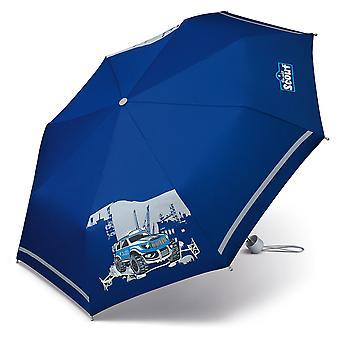 Scout big foot police kids of boys school Pocket umbrella umbrella child umbrella