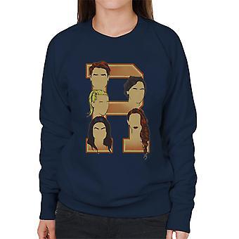 Archie Jughead Betty Veronica Cheryl Riverdale Women's Sweatshirt