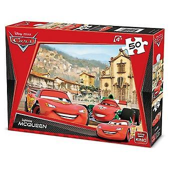 أحجية الملك 50pc ديزني السيارات 2