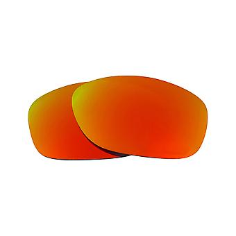PIT BULL Replacement Lenses Polarized Red Mirror by SEEK fits OAKLEY Sunglasses