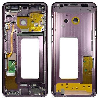 Telaio medio vetro custodia per Samsung Galaxy S9 G960 G960F viola nuovo