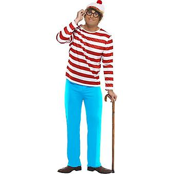 ¿Dónde está Wally? Traje, pecho 38