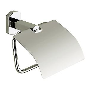 Gedy Edera Toilet Roll Holder with Flap Chrome ED25 13
