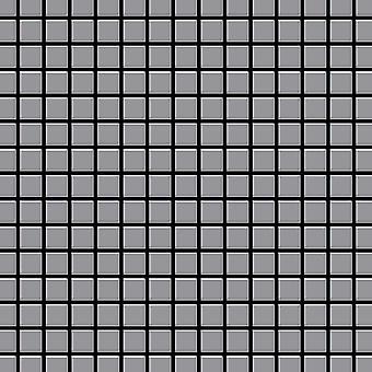Mozaïek van massief metaal Edelstaal ALLOY Mosaic-S-S-MA