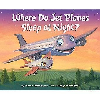 Onde o jato aviões dormir à noite?