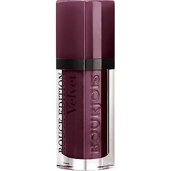 Bourjois Paris Rouge Edition Velvet Lipstick 7.7ml - 25 Berry Chic