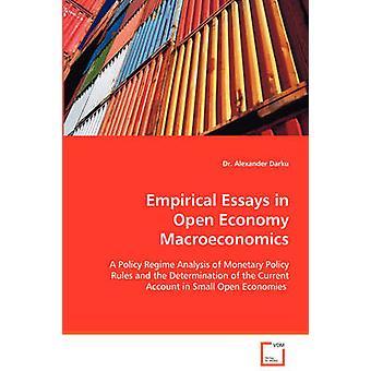 Ensaios empíricos em macroeconomia da economia aberta por Aline Oliveira & Alexander