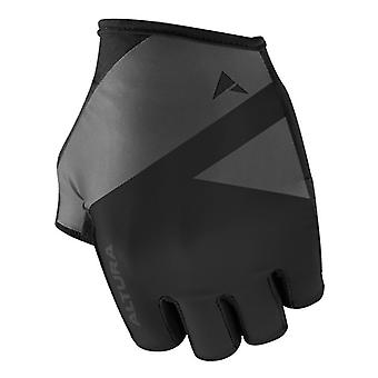 Altura Grey-Black 2019 Team Fingerless Cycling Gloves