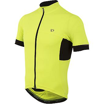 Pearl Izumi Screaming Yellow Elite Escape Short Sleeved Cycling Jersey