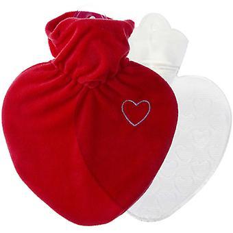 Hugo Frosch Hot Water Bottle In Love hart dekken 1L (0206)