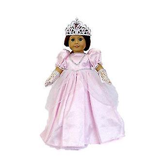 Pink Cinderella Outfit für 18 Zoll Puppen