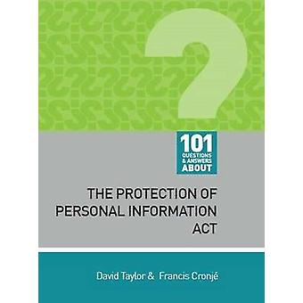 101 Questions and Answers About - The Protection of Personal Informati