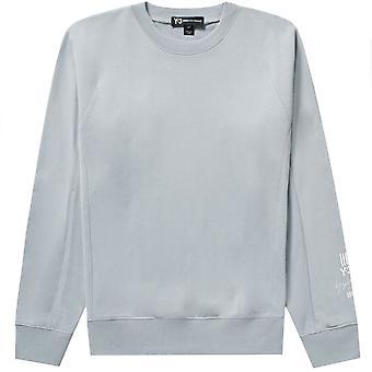 Y-3 Arm Logo Sweatshirt Grey