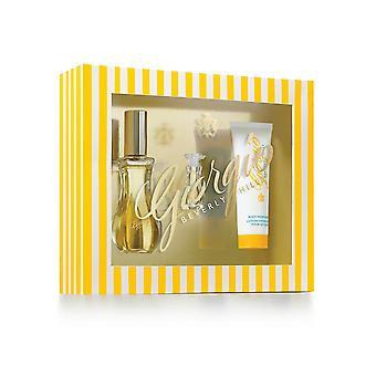Giorgio Beverly Hills Giorgio Yellow Gift Set 50ml EDT + 3.5ml EDT + 50ml Body Lotion