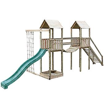Action Arundel Twin Tower Wooden Climbing Frame