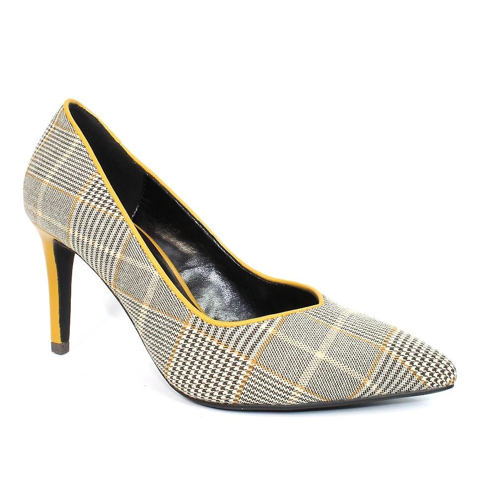 Lunar Samia Tartan Print Court chaussures