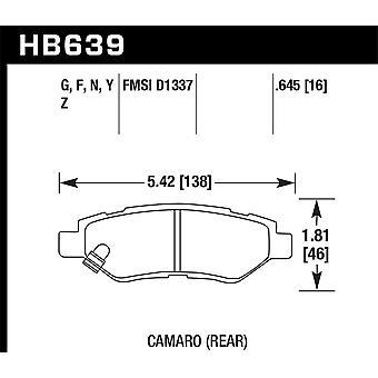Hawk Performance HB639F.645 HPS