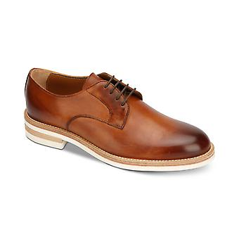 Kenneth Cole New York Mens Timony Leather Lace Up Dress Oxfords