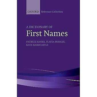 Um dicionário de nomes próprios (coleção de referência de Oxford)