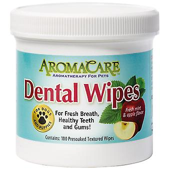 Professional Pet Products Aromacare Dental Wipes 100 Pack