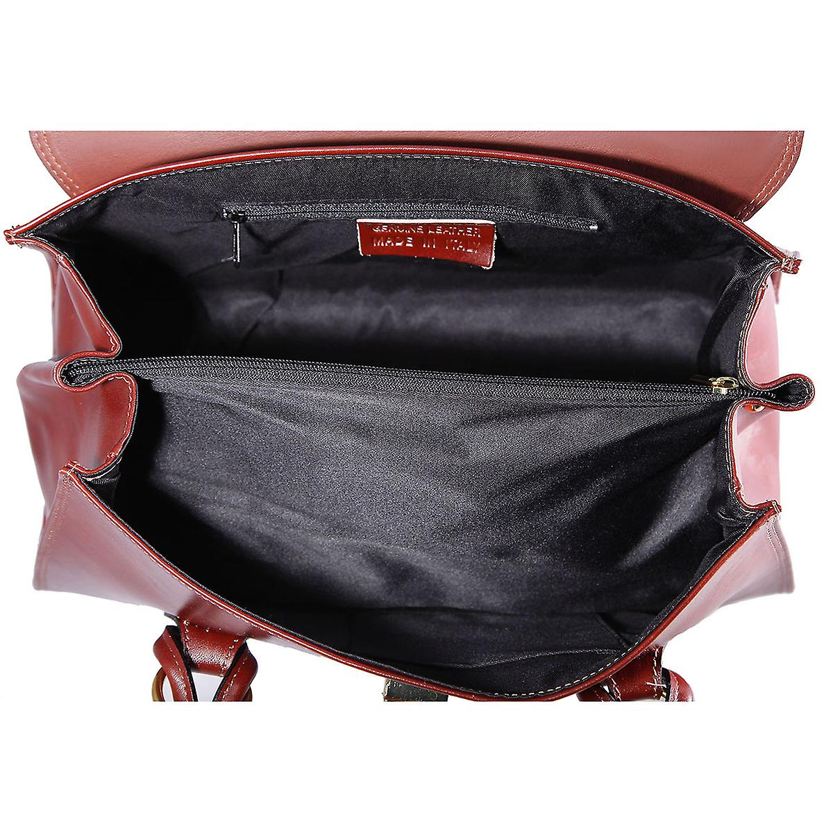 CTM hand bag elegant woman's large genuine leather made in italy