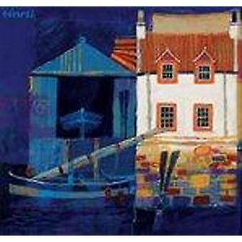 George Birrell stampa - Boat House