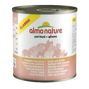 Almo nature Salmon and Pumpkin (Cats , Cat Food , Wet Food)