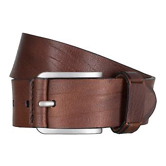 SAKLANI & FRIESE belts men's belts leather belt Brown 5023
