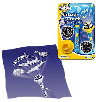 Eureka speelgoed natuur fakkel zeedieren