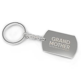 Grandmother We All Look Up To Key Chain Cute Mother's Day Gift For Grandma