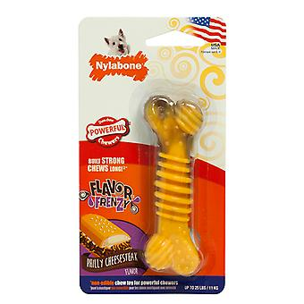 Nylabone Extreme Chew Textured Beef/Cheese Small