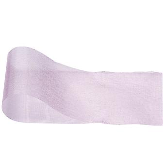 Pink Organza Cut Edge Ribbon for Crafts - 70mm x 25m   Ribbons & Bows for Crafts