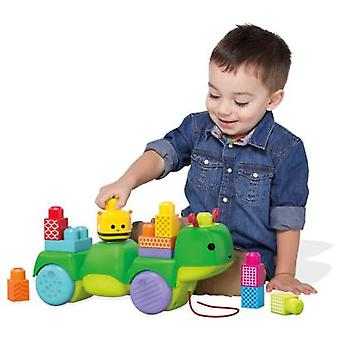 Megabloks Caterpillar Musical Discoveries (Speelgoed , Kleuterschool , Constructies)