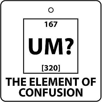 UM? Element af forvirring bil luftfriskere